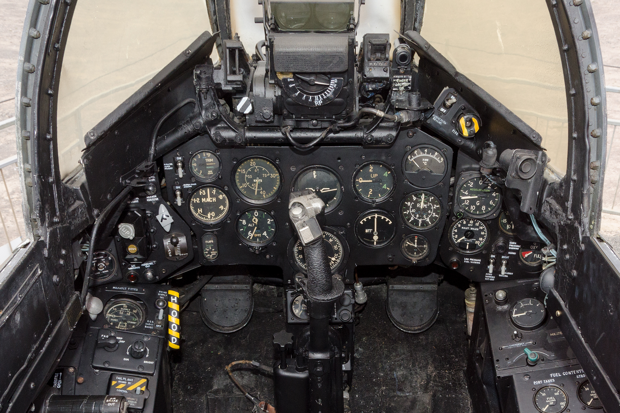 Hunter cockpit