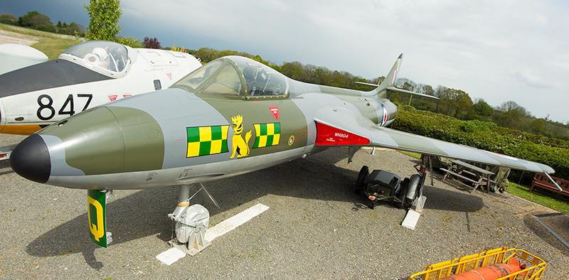 Hawker Hunter F Mk 2 WN904 – Sywell Aviation Museum